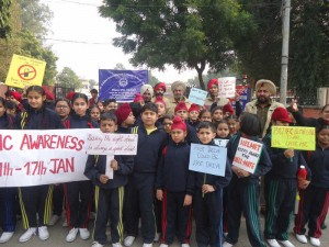 Traffic Awareness Rally Jan-18-2017